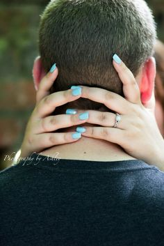 Creative engagement ring photo, photography