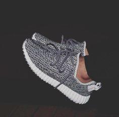 Grey yeezys