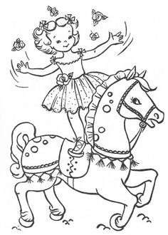 Kid Chasing Butterfly On Springtime Coloring Page