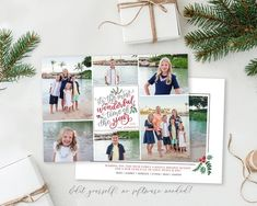 Spread some holiday cheer this season with this festive Christmas Card Template. Your beautiful family photos will look perfect in this 5x7 Christmas card. You can quickly and easily edit your card online in your web browser, then download and print right away! No software needed View MORE Christmas Card Template, Merry Christmas Card, Christmas Photo Cards, Christmas Photos, Holiday Cards, Holiday Birth Announcement, Birth Announcement Template, Web Browser, Card Templates