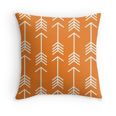 Hey, I found this really awesome Etsy listing at https://www.etsy.com/listing/237995792/arrow-throw-pillow-cover-orange-pillow