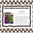 Landforms by Mary Adams Newbridge Discovery Links Science Nonfiction Text Activity  This activity requires students to use reading comprehension st...