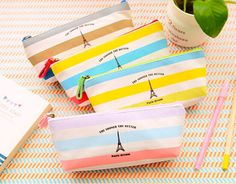 Stock Stationery From Korean Pencil Bags