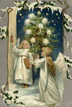 .White Christmas Angels*