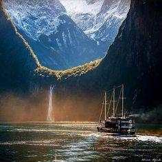 <3 Milford Sound, Fjordland National Park, South Island, New Zealand