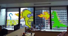 Post-It Note Art Takes Over France and Holland
