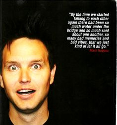Mark Hoppus about the reunion