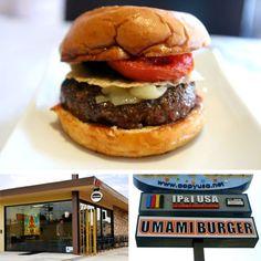 Umami Burgers      $40 (w/ appetizer and drinks)  850 S La Brea Ave  Los Angeles, CA 90036    (323) 931-3000      http://www.umami.com/umami-burger/