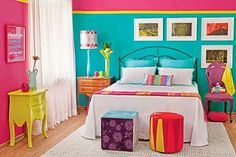 Would you like to decorate your #home with use neon colors..??