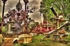 Forevertron Sculpture by Dr. Evermor by Images by MK, via Flickr