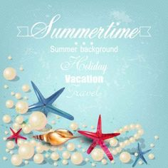 Free Beautiful beach vector background creative commons