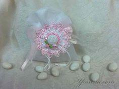 Organza bag with hat $3.00 www.yianna.com