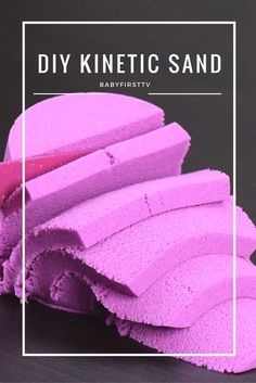 Kids will love being scientists for a day and making their own batch of sand slime and kinetic sand. Here are The 11 Best Sand Slime and Kinetic Sand recipes. Sensory Activities, Sensory Play, Activities For Kids, Sensory Table, Indoor Toddler Activities, Babysitting Activities, Camping Activities, Sensory Bins, Science Projects