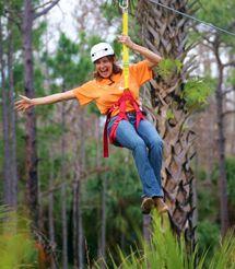 Central Florida Zipline Tours - Zipline Safari near St. Cloud and Orlando FL area Disney World Vacation, Disney Trips, Forever Florida, Extreme Activities, Visit Orlando, Orlando Theme Parks, Florida Travel, Central Florida, Sea World
