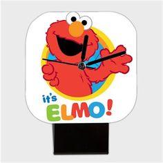 its Elmo Kendin Tasarla - Kare Masa Saati