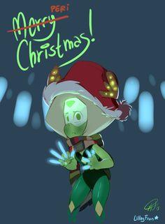 Steven Universe Fan Art! — lillayfran: PERI CHRISTMAS EVRYONE-