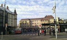 Heiligengeistplatz - Busbahnhof