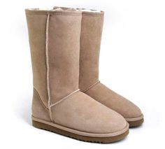 Sand Classic Tall UGG Boots