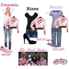 btw pink ladies grease by rbrdwy94 - Polyvore