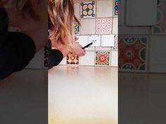How to cut Mi Alma Tiles? #tilestickers #kitchentilestickers #bathroomtilestickers #fireplacetilestickers #backsplashtilestickers #walldecorstickers #murals #wallmurals #walltilestickers #homedecor #stairtilestickers #wallstickers #decals #decalstickers