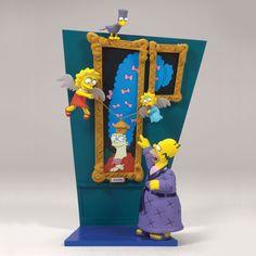 McFarlane Simpsons The Raven Figure Set - Homer, Lisa, Maggie, Marge - Series 2 Tree House of Horrors The Simpsons Guy, Simpsons Toys, Simpsons Art, Simpsons Funny, Bart Simpson, Cartoon Junkie, Famous Cartoons, Horror House, Arte Horror