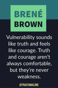 Vulnerability sounds like truth and feels like courage. Truth and courage aren't always comfortable, but the're never weakness. #BreneBrown, #Narcissism, #Narcissistic, #narcissistscruel, #manipulation, #Narcissismexpert, #Psychology, #Sociopath, #NPD, #narcissisticpersonalitydisorder , #Codependency, #Manipulation, #PTSD, #CPTSD, #EmotionalAbuse, #DomesticAbuse, #Abuse, #MentalIllness, #Support, #Depression, #Help, #Healing, #Heal, #Codependent, #TracyMalone, #Tracyamalone, #recovery…