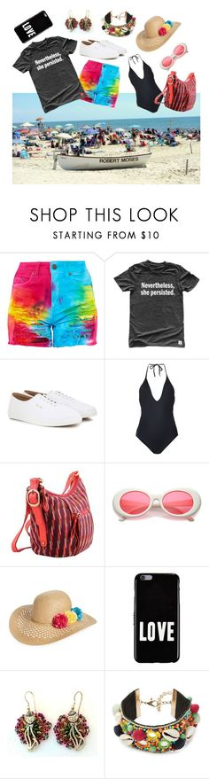 """""""My Look"""" by christined1960 ❤ liked on Polyvore featuring The Row, ONIA, NOVICA, Capelli New York, Givenchy and Design Lab"""