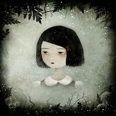 "sad | Sad Sally "" – digital illustration (prints available at Etsy )"