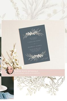Remember to offer meal choices on your wedding invitations! If you are having a sit-down dinner, include your entrée options on the RSVP response cards. This way, you can ensure your guests will be served exactly what they want, and your caterer will thank you for the crystal-clear communication. #stylemepretty #minted #weddinginvitations Pacific Grove California, California Winter, Unique Wall Art, Response Cards, Winter White, Stuff To Do, Rsvp, Holiday Cards, Wedding Invitations