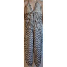 Desigual dámský overal bílo modré proužky 30 Second Hand, Duster Coat, Jackets, Fashion, Down Jackets, Moda, Fashion Styles, Fashion Illustrations, Jacket
