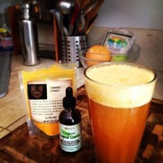 Sweet and Spicy Anti-Inflammatory Beverage Recipe