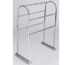 Buy HOME Traditional 5 Tier Freestanding Towel Rail - Chrome at Argos.co.uk, visit Argos.co.uk to shop online for Towel rails and rings, Bathroom accessories, Home furnishings, Home and garden