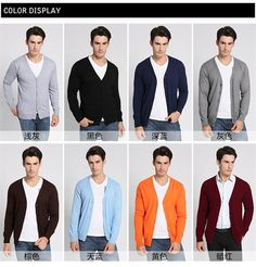 High Quality Men Cardigans Polo V Neck Wool Cashmere Sweater Winter Brand Christmas Jumpers V New fashion 2015 Free Shipping-in Sweaters from Men's Clothing & Accessories on Aliexpress.com | Alibaba Group