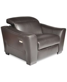 Alessandro Leather Power Reclining Chair Created for Macyu0027s  sc 1 st  Pinterest & Alessandro Leather Sectional Sofa with 2 Power Recliners with ... islam-shia.org