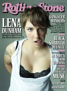 """Lena Dunham Covers """"Rolling Stone"""""""