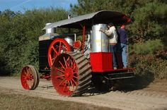 1918 Hart Parr 30-60hp gas tractor