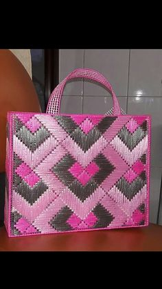 Crochet Coaster Pattern, Crochet Baby Dress Pattern, Crochet Patterns, Plastic Canvas Christmas, Plastic Canvas Crafts, Plastic Canvas Patterns, Embroidery Bags, Embroidery Patterns, Yarn Projects