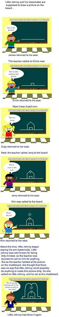 Little Johnny Joke... I downloaded this picture when I was in high school lol