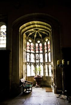 Athelhampton House  - Note:   oriel windows are wonderful exterior elements of design, but the real splendor comes from the interior architecture and light they provide!!