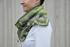 Laura Wrap and Cowl by Sincerely Pam, pattern for purchase