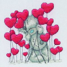 Tatty Ted Hearts Kit by Anchor only £18.25 - Past Impressions