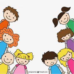 Dibujo de niños de guardería