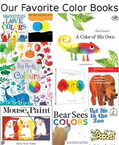 12 Color Books for Little Kids Favorite color Students and School