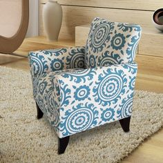 Found it at Wayfair - Printing Arm Chair