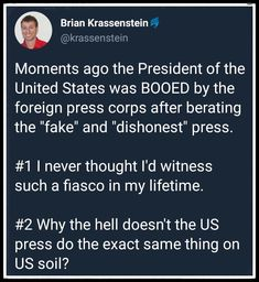 Unfortunately, it would just feed into Trump's paranoia/propaganda that the press is part of the big secret society/deep state that are all against him.