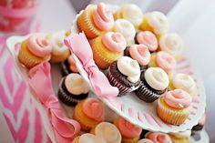 The Busy Budgeting Mama: A Pretty Pink Christening-Dessert Table