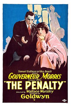 The Penalty was a silent crime drama released by Fox in 1920. It featured Lon Chaney Sr. in one of his more famous breakout roles.