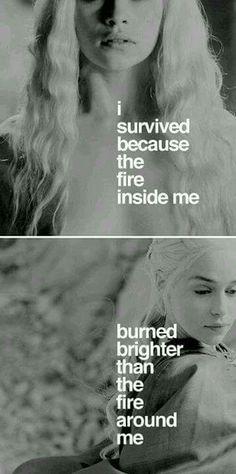 Burn the fire