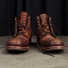 mycultizm:  The curtain rises: The iconic Red Wing Boot Iron Ranger is on stage now!