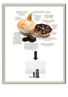 Beneficios del ajo negro .